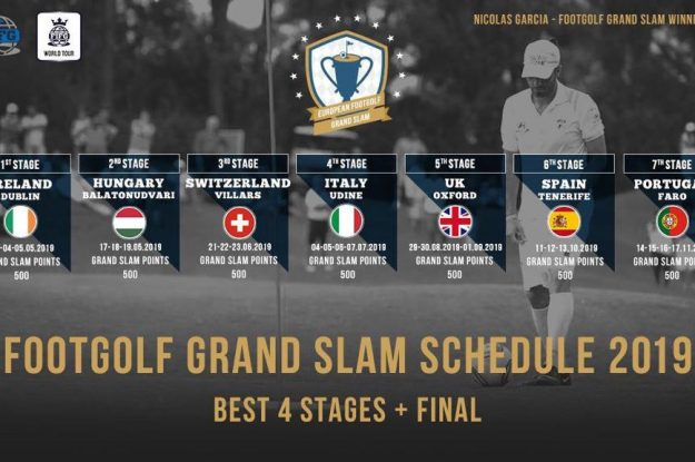 Footgolf Grand Slam Schedule 2019