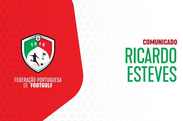 Comunicado de Ricardo Esteves